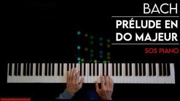 SOS Piano Bach prélude en do